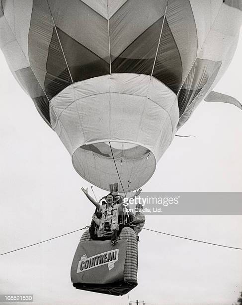 Ron Galella during Vatel Annual Picnic June 24 1979 at Hot Air Balloon above Hyde Park in New York City New York United States