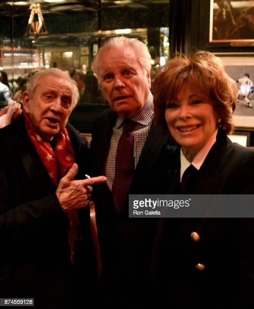 Ron Galella, Robert Wagner and Jill St. John attend Gallagher's Steakhouse 90th Anniversary Celebration on November 14, 2017 at Gallagher's...