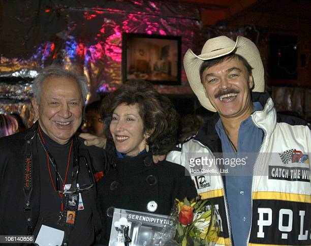 Ron Galella Susan Blond and Randy Jones during Factory Craze A Week of Warhol Exhibit Opening February 19 2007 at The Gershwin Hotel in New York New...