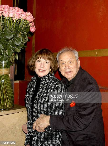 Ron Galella with wife Betty during YannBrice Dherbier And PierreHenri Verlhac Host Dinner For Ron And Betty Galella at Paris France in Paris France