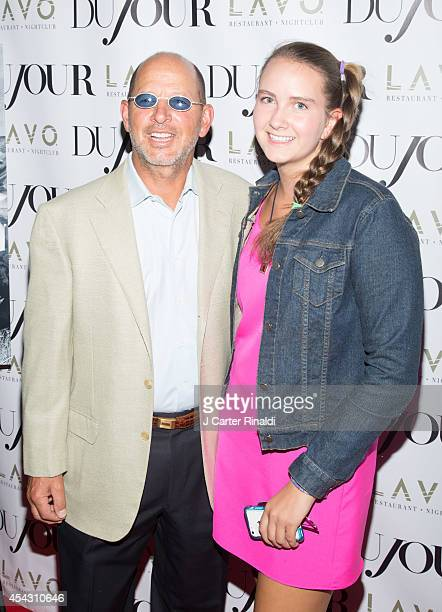 Ron Galotti and Abigail Galotti attend DuJour Magazine Celebrates Kendall Kylie Jenner at Lavo on August 28 2014 in New York City