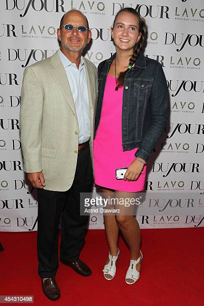 Ron Galotti and Abigail Galotti attend DuJour Magazine's Jason Binn celebrating Kendall and Kylie Jenner's Bruce Weber shoot presented by Juice Press...