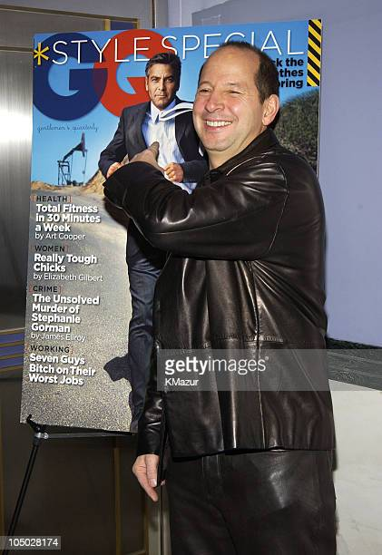 Ron Galotti GQ Vice President and Publisher during Confessions of A Dangerous Mind New York Premiere Inside Arrivals at Paris Theater in New York...