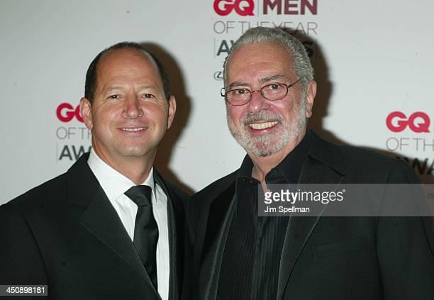 Ron Galotti vicepresident/publisher of GQ Magazine and Arthur Cooper editorinchief of GQ Magazine