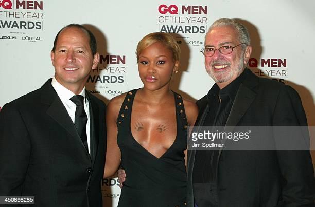 Ron Galotti vicepresident/publisher of GQ Magazine Eve and Arthur Cooper editorinchief of GQ Magazine