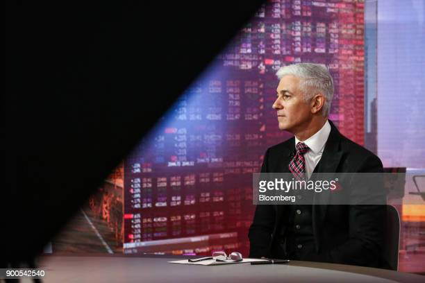 Ron Geffner partner at Sadis Goldberg LLP listens during a Bloomberg Television interview in New York US on Tuesday Jan 2 2018 Geffner discussed what...