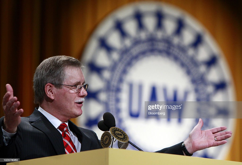 Outgoing UAW President Says Auto Industry Rebounding, Credits Obama