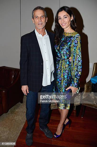 Ron Glazer and Dara Tomanovich attend the Cultural Council of Palm Beach County Previews Cultural Season at NYC's CORE Club at CORE Club on September...