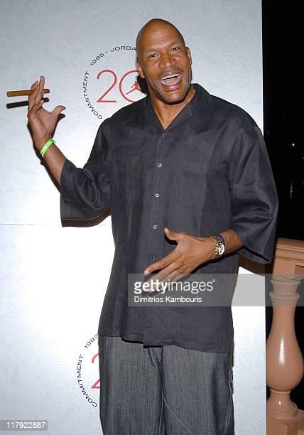 Ron Harper during Air Jordan Celebrates 20th Anniversary with Sneak Peek of Air Jordan XX to Kick Off Michael Jordan Celebrity Invitational at...