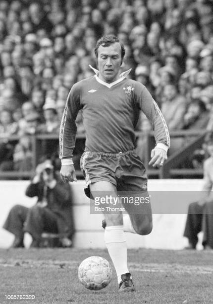 Ron Harris of Chelsea in action during the Football League Division One match between Nottingham Forest and Chelsea at the City Ground on April 1,...