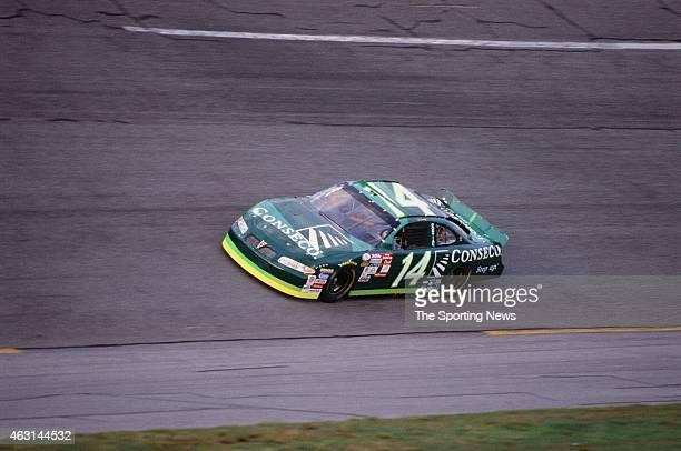 Ron Hornaday Jr drives his car during practice for the Daytona 500 at the Daytona International Speedway on February 17 2001 in Daytona Beach Florida