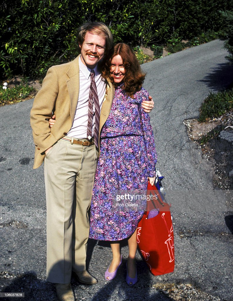 Ron Howard and Cheryl Howard during Donny Most and Morgan Hart Wedding Reception - February 21, 1982 at Donny Most's Malibu Home in Malibu, California, United States.