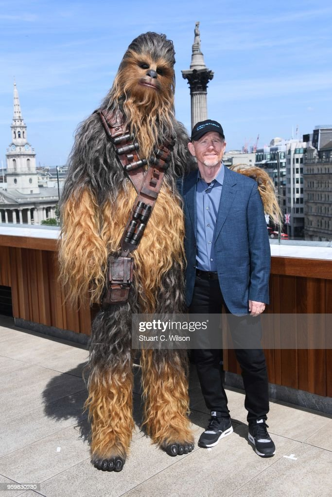 A Star Wars Story photocall on May 18, 2018 in London, United Kingdom.