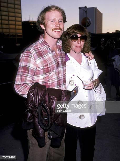 Ron Howard and wife Cheryl Howard