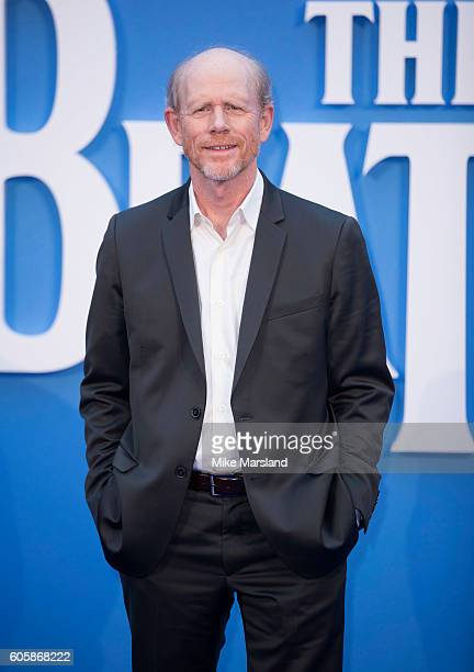 Ron Howard arrives for the World premiere of 'The Beatles Eight Days A Week The Touring Years' at Odeon Leicester Square on September 15 2016 in...
