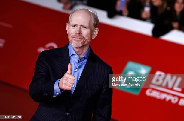 Ron Howard at Rome Film Fest 2019. Rome , October 18th, 2019