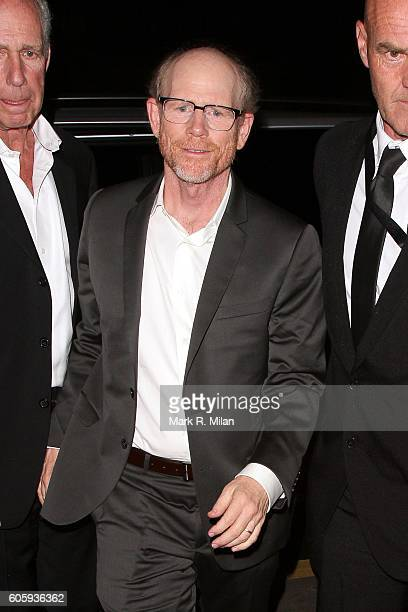 Ron Howard attending The Beatles Eight Days A Week premiere after party on September 15 2016 in London England