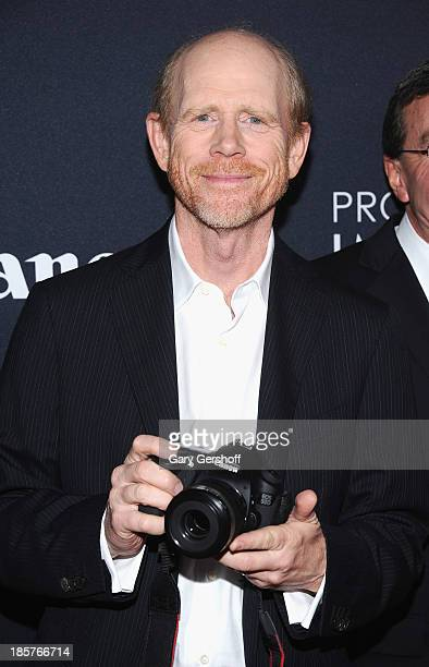 Ron Howard attends Canon's 'Project Imaginat10n' Film Festival opening night at Alice Tully Hall at Lincoln Center on October 24 2013 in New York City