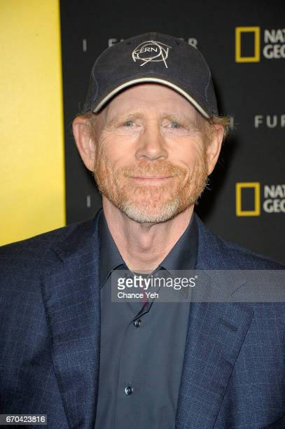 Ron Howard attends National Geographic FURTHER FRONT at Jazz at Lincoln Center's Frederick P Rose Hall on April 19 2017 in New York City