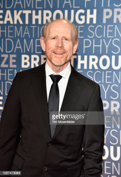 Ron Howard attends the 2019 Breakthrough Prize at NASA Ames Research Center on November 4 2018 in Mountain View California