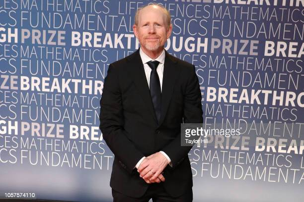 Ron Howard attends the 7th Annual Breakthrough Prize Ceremony at NASA Ames Research Center on November 4 2018 in Mountain View California