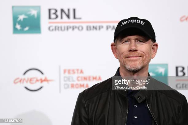 Ron Howard attends the photocall of the movie Pavarotti during the 14th Rome Film Festival on October 18 2019 in Rome Italy