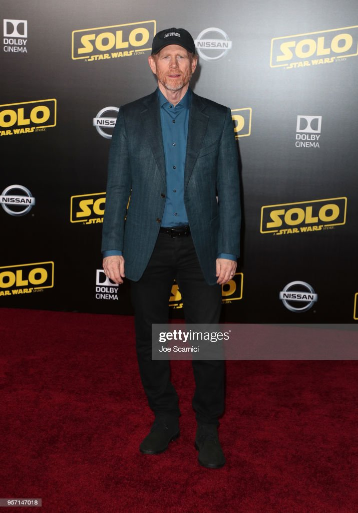 Ron Howard attends the premiere of Disney Pictures and Lucasfilm's 'Solo: A Star Wars Story' at the El Capitan Theatre on May 10, 2018 in Hollywood, California.