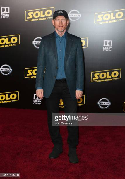 Ron Howard attends the premiere of Disney Pictures and Lucasfilm's Solo A Star Wars Story at the El Capitan Theatre on May 10 2018 in Hollywood...