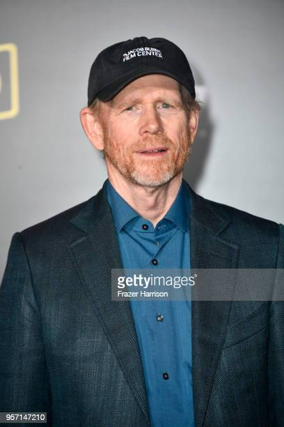 Ron Howard attends the premiere of Disney Pictures and Lucasfilm's Solo A Star Wars Story at the El Capitan Theatre on May 10 2018 in Los Angeles...