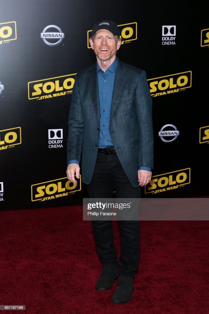 Ron Howard attends the premiere of Disney Pictures and Lucasfilm's 'Solo: A Star Wars Story' on May 10, 2018 in Hollywood, California.