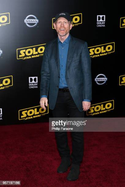 Ron Howard attends the premiere of Disney Pictures and Lucasfilm's Solo A Star Wars Story on May 10 2018 in Hollywood California