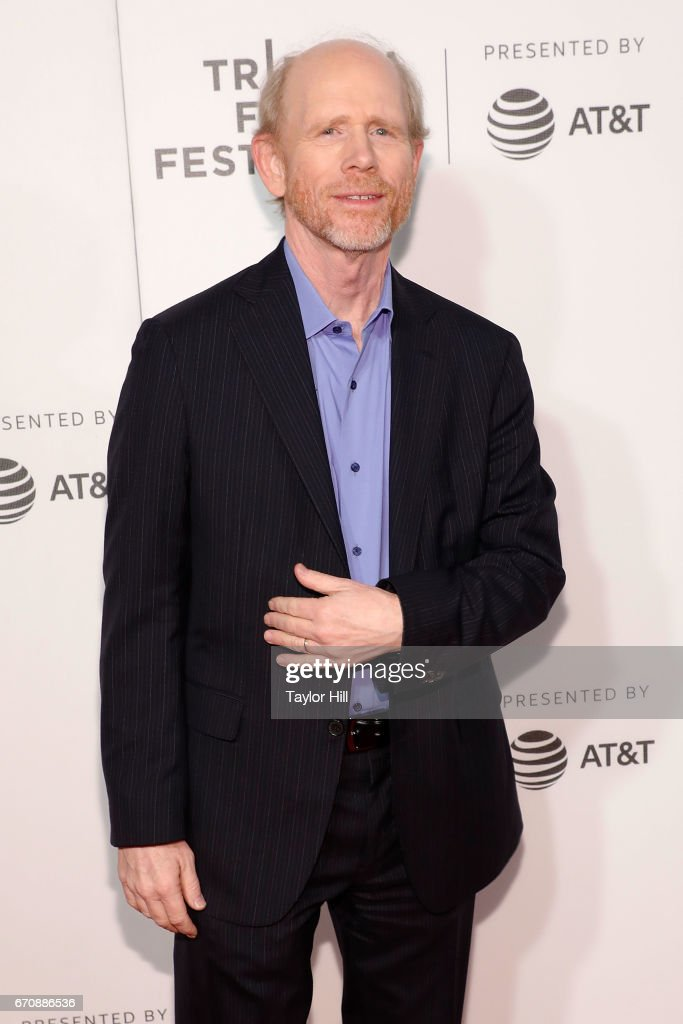 Ron Howard attends the premiere of 'Genius' during the 2017 Tribeca Film Festival at Borough of Manhattan Community College on April 20, 2017 in New York City.