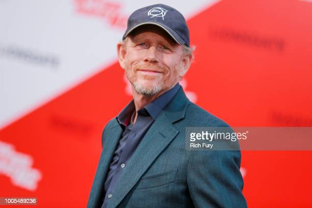 Ron Howard attends the premiere of Lionsgate's The Spy Who Dumped Me at Fox Village Theater on July 25 2018 in Los Angeles California