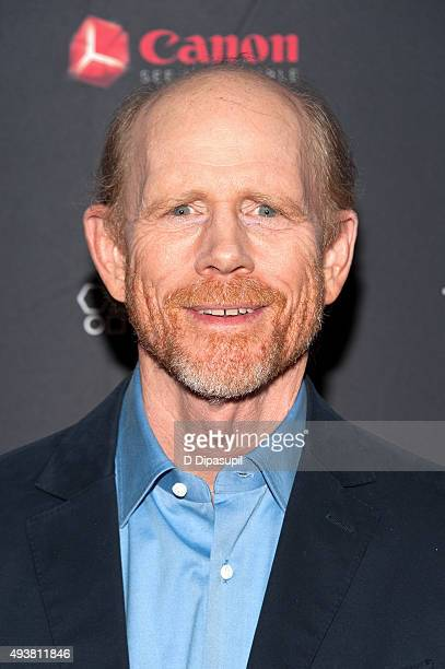 Ron Howard attends The Rusted New York premiere at AOL Studios In New York on October 22 2015 in New York City
