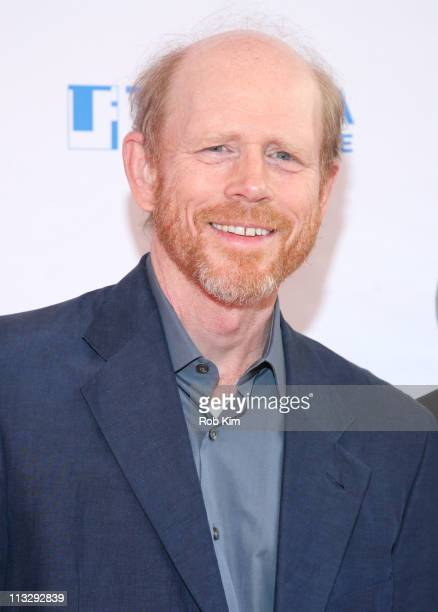 Ron Howard attends Tribeca Talks After the Movie 'A Beautiful Mind' during the 10th annual Tribeca Film Festival at SVA Theater on April 30 2011 in...