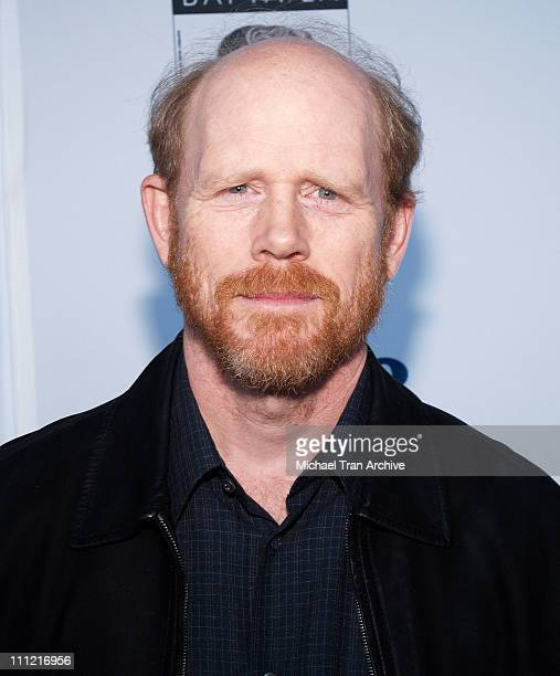 Ron Howard during 12th Annual BAFTA Los Angeles Tea Party Arrivals at The Park Hyatt Los Angeles in Los Angeles California United States