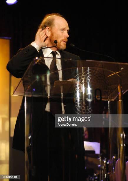 Ron Howard during 50th Annual San Francisco International Film Festival Film Society Awards Night at Westin St Francis Hotel in San Francisco...