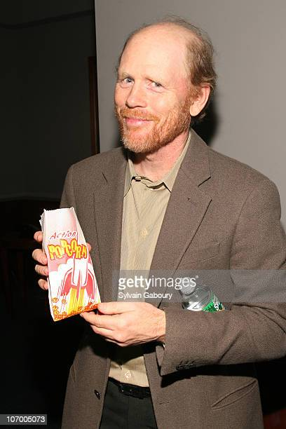 Ron Howard during Harvey Weinstein Hosts a Private Screening of Bobby for Senators Obama and Schumer Inside Arrivals at Disney Screeening Room in New...