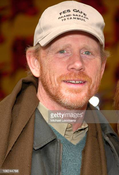Ron Howard during Miss Potter Special Private Screening at MoMA Theatre in New York City New York United States