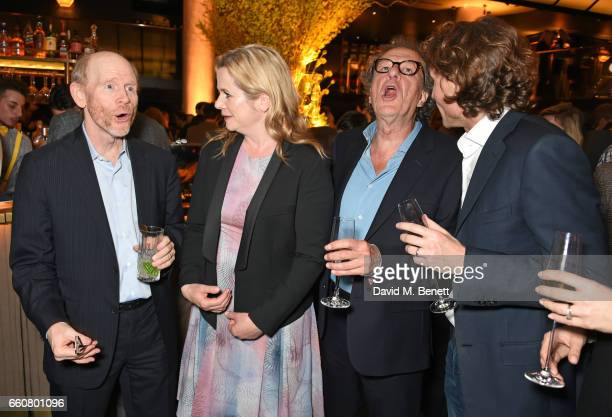Ron Howard, Emily Watson, Geoffrey Rush and Jan Koeppen, President of Fox Networks Group, Europe and Africa, attend the London Premiere after party...