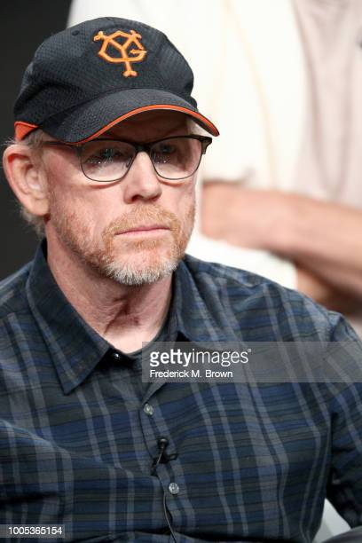 Ron Howard of 'Mars' speaks onstage during the National Geographic portion of the Summer 2018 TCA Press Tour at The Beverly Hilton Hotelon July 25...