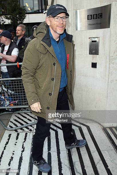 Ron Howard seen at BBC Radio 2 on October 14 2016 in London England