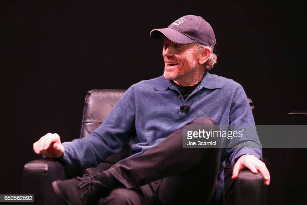 Ron Howard speaks onstage at the Nat Geo Further Base Camp at SXSW 2017 Day 3 on March 12 2017 in Austin Texas