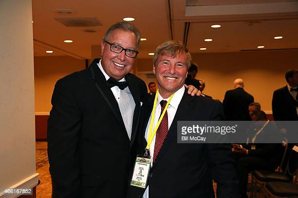 Ron Jaworski and Leigh Steinberg winner of the Reds Bagnell Award for contribution to the game of Football attends the 78th Annual Maxwell Football...