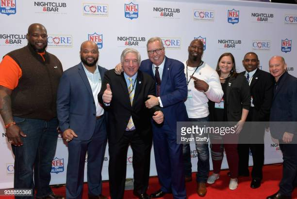 Ron Jaworski , Lauren LaViola and guests attend day two of the 33rd annual Nightclub & Bar Convention and Trade Show on March 27, 2018 in Las Vegas,...