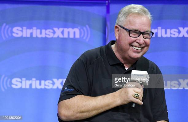 Ron Jaworski speaks during the SiriusXM Town Hall at the PGA Merchandise Show on January 22, 2020 in Orlando, Florida.