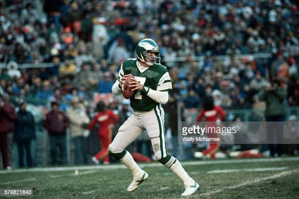 Ron Jaworski with the Football