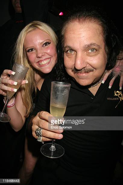 Ron Jeremy and guest during Ron Jeremy's Birthday Bash Celebration March 10 2007 at Element in Hollywood California United States