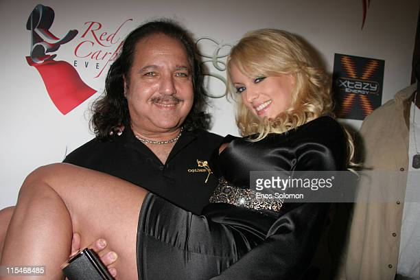 Ron Jeremy and Stormy Daniels during Ron Jeremy Birthday Bash Hosted by Stormy Daniels in Association with Penthouse and Esterman March 10 2007 at...
