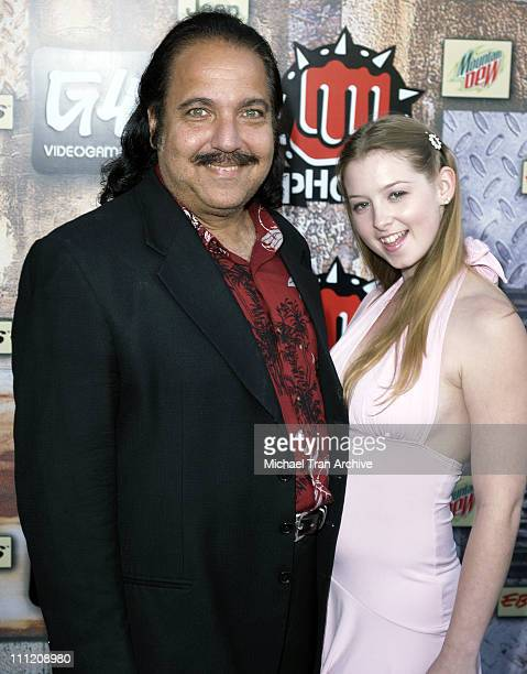 Ron Jeremy and Sunny Lane during GPhoria 2005 The Mother of All Videogame Award Shows Arrivals at Los Angeles Center Studios in Los Angeles...